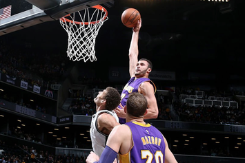 Watch Larry Nance Jr Put Brook Lopez On A Poster