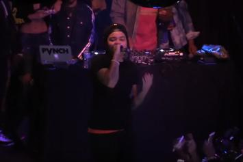 "Watch Young M.A. Perform ""OOOUUU"", ""Quiet Storm"" & More For The Boiler Room In NYC"