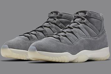 "Air Jordan 11 ""Suede"" Release Scheduled For Tomorrow"
