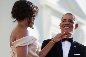Barack & Michelle Obama Share Their Last Holiday Message As First Family