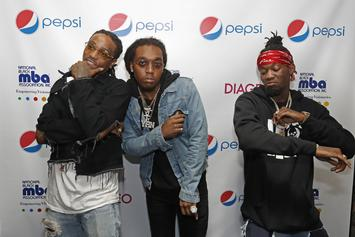 "Migos ""Bad & Boujee"" Earns Trio First Top 10 Hot 100 Entry"