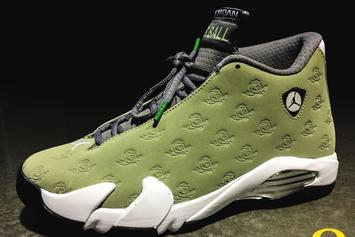 Oregon Ducks Reveal Special Edition Air Jordan XIV