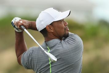 Tiger Woods Praises Donald Trump's Impressive Golf Drive In New Blog Post