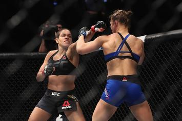 "Amanda Nunes Says Ronda Rousey Is ""For Sure"" Overrated"