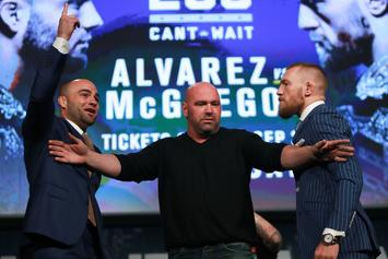 Dana White Offers Floyd Mayweather $25 Million For Conor McGregor Boxing Match