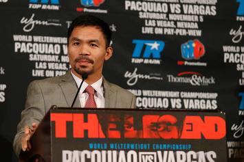 Manny Pacquiao Is Down To Box Conor McGregor