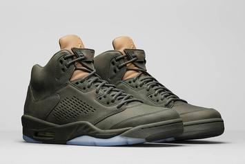 """This """"Take Flight"""" Air Jordan 5 Will Reportedly Retail For $400"""