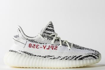 """""""Zebra"""" Adidas Yeezy Boost 350 V2 Release Date Confirmed For February"""