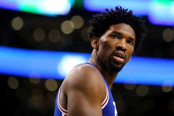 Joel Embiid Thinks The Super Bowl Was Rigged