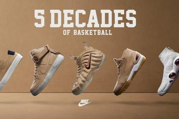 "Nike Releasing ""5 Decades Of Basketball"" Collection This Week"