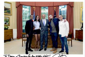 Drake Shares Message That He Misses Barack Obama
