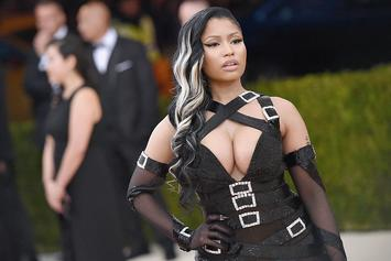 Nicki Minaj Posts Topless Pic On Instagram