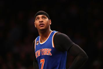 """Carmelo Anthony """"Doesn't Understand"""" Knicks' Vision For The Future"""