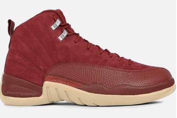 "Burgundy Suede ""Bordeaux"" Air Jordan 12s Rumored To Release"