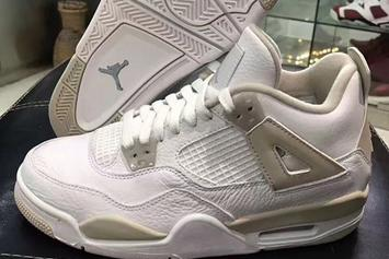 "The Rare ""Linen"" Air Jordan 4 Is Returning This Spring"