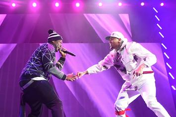 "50 Cent Drops Out Of Chris Brown's ""The Party"" Tour"