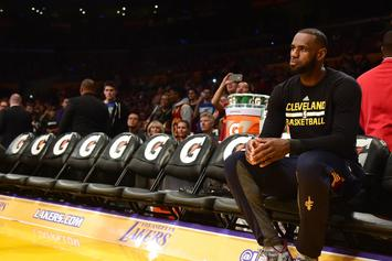 LeBron James Apologizes For On-Court Altercation With Tristan Thompson