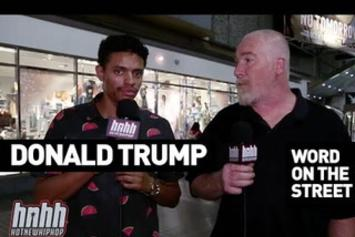 Word On The Street: America Elects Donald Trump As President