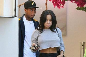 Tyga Dines With Busty New Chick & Twitter Clowns Him