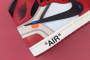 Off-White x Air Jordan 1 Collab Is Reportedly In The Works