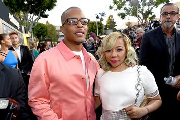 Tiny Blames T.I. For Being At Party Where She Danced With Floyd Mayweather