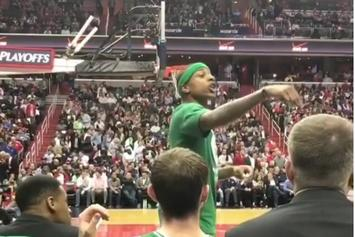 "Watch Isaiah Thomas Call Out Heckling Wizards Fan: ""I Will F*ck You Up"""