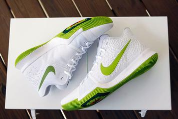 """Mountain Dew Unleashes Limited Edition Nike Kyrie 3 """"K.A.R.E Kit"""""""