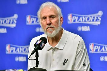 """Spurs Coach Gregg Popovich On President Trump: """"He's In A Game Show"""""""