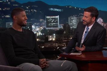 Paul George Talks Lakers Rumors On Jimmy Kimmel Live