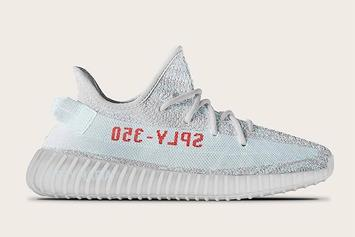 """The """"Blue Tint"""" Adidas Yeezy Boost 350 V2 Will Look Something Like This"""