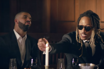 "Future Thanks Drake For ""Setting The Bar High"""