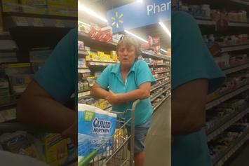 SMH! Another Racist Woman Goes On A Ridiculous Rant, Told To Leave Walmart