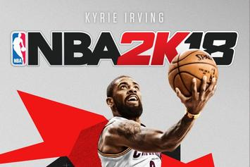 Kyrie Irving Named NBA 2K18 Cover Athlete