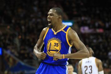"Durant's Mom Celebrates Game 3 NBA Finals Victory: ""They Wouldn't Take It"""
