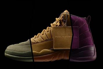 PSNY Officially Confirms Three New Air Jordan 12 Collabs In The Works
