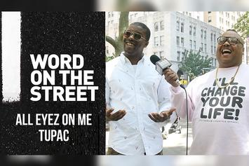Tupac Biopic: Bizarre Asks New Yorkers Their Opinion (Word on the Street)