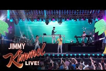 """Watch Kyle & Lil Yachty Perform """"iSpy"""" On Kimmel"""