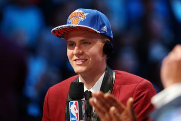 Phil Jackson Confirms Porzingis Trade Rumors, Twitter Explodes