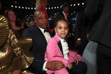 Twitter Reacts To Blue Ivy Spitting Bars