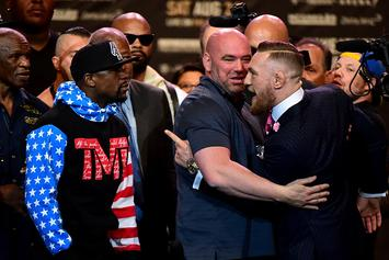 Dana White's Vlog Shows Behind The Scenes Of Mayweather, McGregor Tour