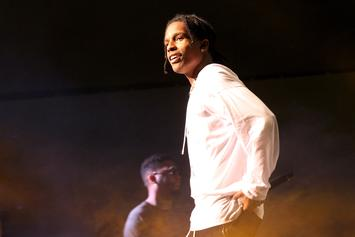 A$AP Rocky Appears To Diss A$AP Bari On Stage