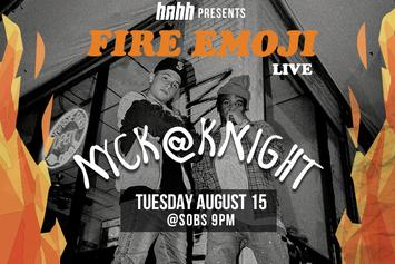 Announcing: Fire Emoji Live With Nyck @ Knight