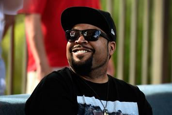 """Watch Ice Cube Sing """"Take Me Out To The Ballgame"""" At Cubs Game"""