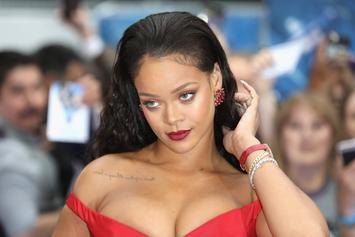 Rihanna Dons Revealing Outfit For Event In Barbados