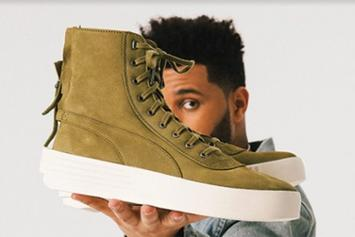 "The Weeknd x Puma Parallel ""Olive"" Release Details Announced"