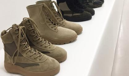 Yeezy Season 5 Military Boots Unveiled