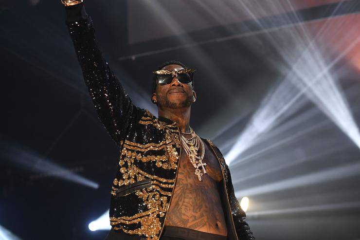 "Gucci Mane's ""homecoming"" concert in ATL"