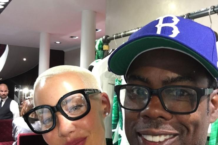 Chris Rock Amber Rose