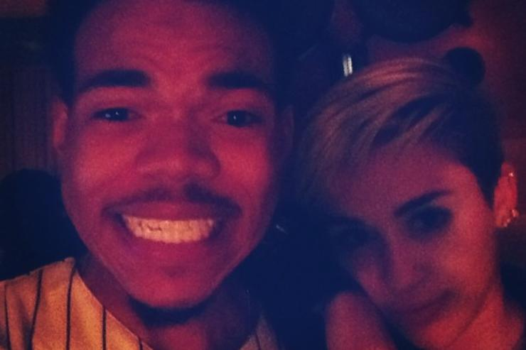 Chance The Rapper Miley Cyrus
