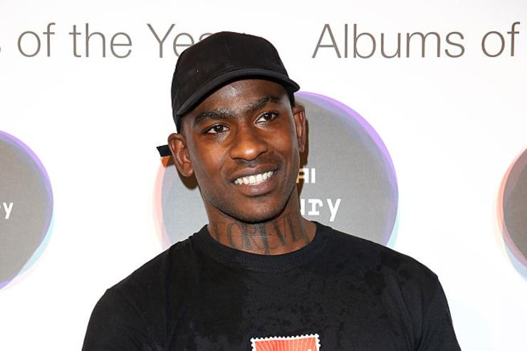 Joseph Junior Adenuga aka Skepta poses for a photo shortly after being announced the winner of the Mercury Prize 2016 at the Hyundai Mercury Prize 2016 at Eventim Apollo on September 15, 2016 in London, England.